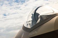 Сень реактивного истребителя Стоковые Фотографии RF