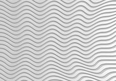 Серая абстрактная предпосылка волны 3d безшовная Стоковые Изображения RF