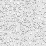 Серая абстрактная предпосылка года сбора винограда 3d безшовная Стоковые Фото