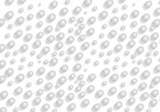 Серая абстрактная предпосылка пузыря 3d безшовная Стоковая Фотография RF