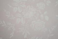 Серая безшовная съемка фото цветочного узора Стоковая Фотография