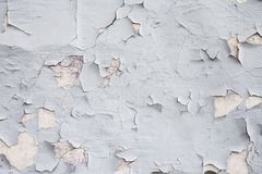 Серая бетонная стена с grunge для абстрактной предпосылки Стоковая Фотография RF