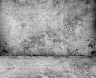 Серая бетонная стена Стоковое Изображение