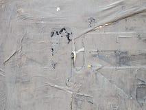 Серая бумага на стене Стоковая Фотография RF