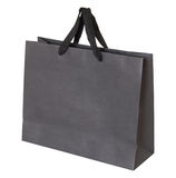 Серая бумажная сумка изолированная на белизне Стоковая Фотография RF
