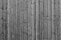 Серая деревянная картина предпосылки загородки Стоковое Изображение