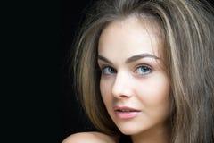 серая женщина волос Стоковые Фотографии RF