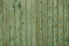 Серая зеленая предпосылка деревянных доск огораживает загородку Стоковое Изображение