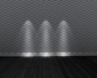 Серая и темная комната Стоковые Фото