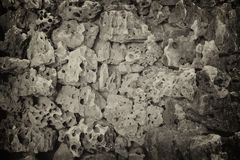 Серая каменная предпосылка текстуры Стоковое Фото