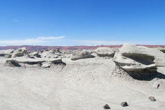 Серая каменная пустыня Стоковое фото RF