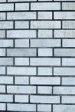 Серая кирпичная стена для предпосылки и текстуры Стоковое Изображение