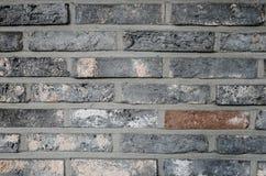 Серая кирпичная стена Стоковое Фото