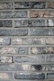 Серая кирпичная стена Стоковое фото RF