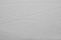 Серая кожаная grained предпосылка текстуры Стоковое фото RF