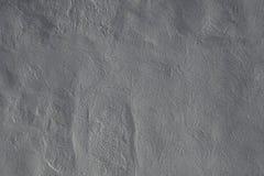 Серая конкретная ровная предпосылка текстуры стены Стоковое Изображение
