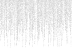 Серая матрица с тенью на белой предпосылке Стоковое фото RF