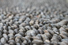 Серая мостоваая камешков Стоковые Фото