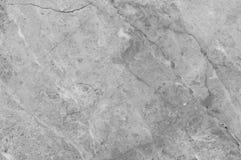 Серая мраморная текстура Мраморная картина природы Стоковая Фотография RF