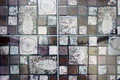 серая плитка моря картины Стоковые Фото