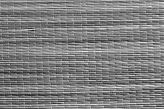 серая поверхность циновки соломы цвета Стоковые Фотографии RF