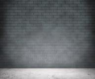 Серая предпосылка кирпичной стены Стоковое Изображение RF