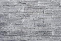 Серая предпосылка каменной стены Стоковое Изображение
