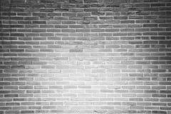 Серая предпосылка текстуры кирпичной стены grunge Стоковая Фотография RF