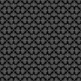 Серая ретро безшовная картина Стоковое Изображение RF
