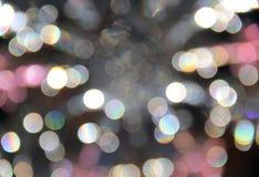 Серая розовая предпосылка нерезкости белого света Стоковое фото RF