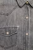 Серая рубашка демикотона Стоковое Изображение RF