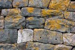 серая старая каменная стена Стоковые Изображения RF