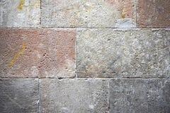 Серая старая предпосылка кирпичной стены Стоковое Изображение RF