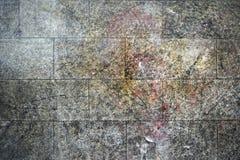 Серая старая предпосылка кирпичной стены Стоковое фото RF