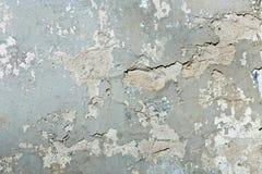 Серая стена гипсолита Стоковые Изображения