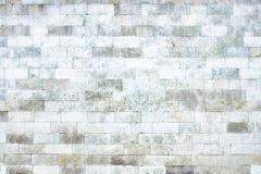 Серая стена мраморных блоков, каменная светлая текстура как предпосылка Стоковое фото RF