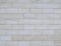 Серая стена сделанная из больших блоков цемента Стоковая Фотография