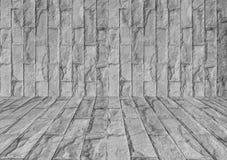 Серая текстура каменной стены Стоковые Изображения RF