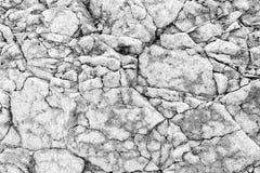 Серая текстура камня утеса Стоковая Фотография