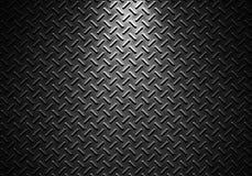 Серая текстура металлического листа с дирекционным светом Стоковая Фотография