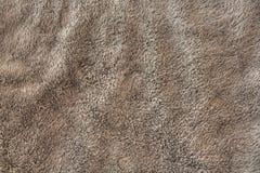 Серая текстура полотенца Стоковое Изображение