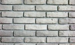 Серая текстура предпосылки кирпичной стены Стоковое Фото