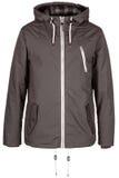 Серая теплая куртка Стоковое Фото