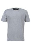 Серая футболка для клеймить изолированная на белой предпосылке стоковые изображения