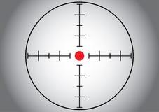 серая цель снайпера Стоковое Изображение RF