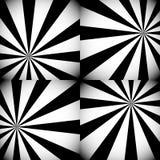 Серая шкала/Monochrome Sunburst, предпосылки Starburst с Radi иллюстрация вектора