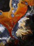 сера кристаллов предпосылки стоковая фотография rf