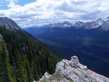 сера пика горы Стоковая Фотография RF