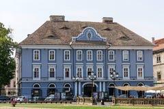 Сербский епископский дворец, Timisoara стоковые фотографии rf