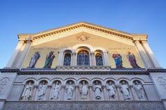 Серб-правоверная церковь в Триесте Стоковое Изображение RF